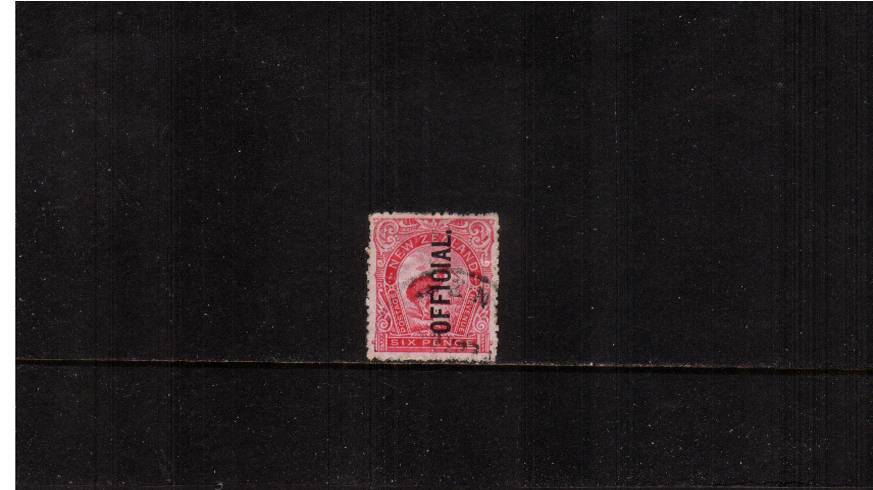 1d Bright Carmine-Pink<br/>