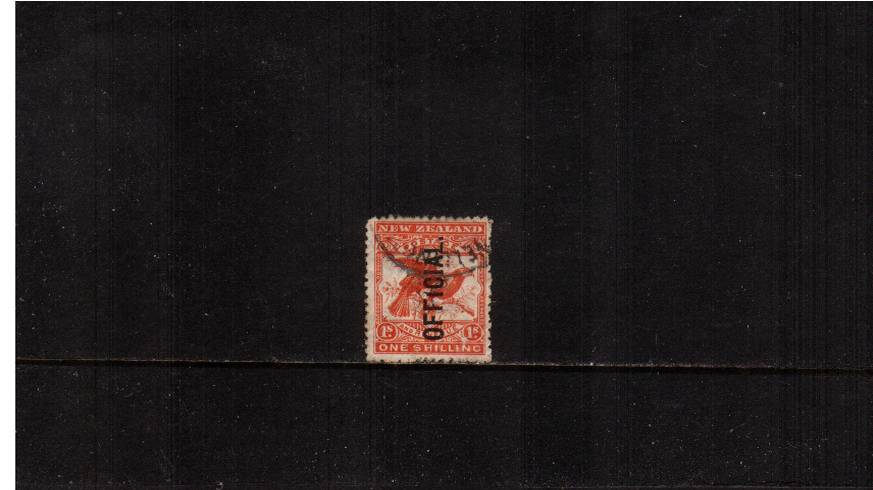 1/- Orange-Red<br/>