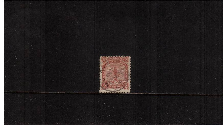 2d Brown-Red - Perforation 12x11½<br/>