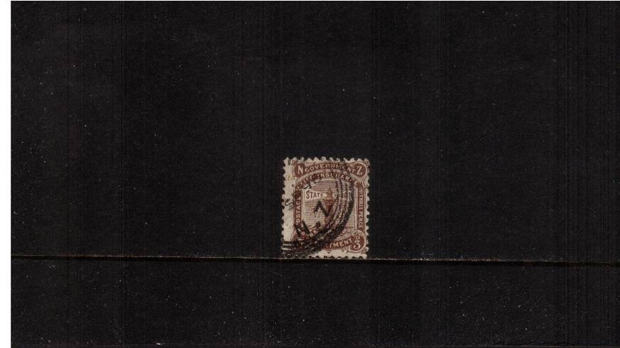 3d Deep Brown - Perforation 12x11½<Br/>