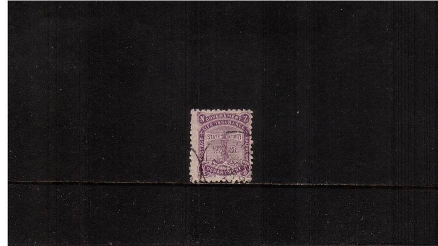 ½d Bright Purple - Perforation 12x11½<br/>