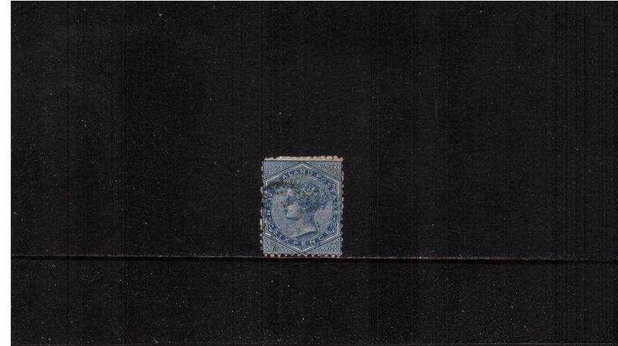 6d Blue - Perforation 12�br/>