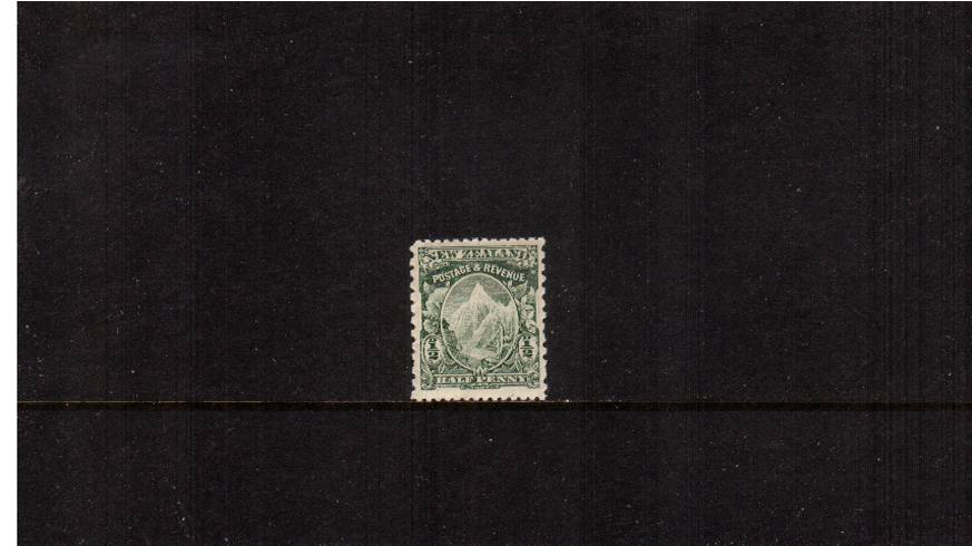 ½d Green - Watermark ''Single'' NZ - Perforation 14x11<br/> 