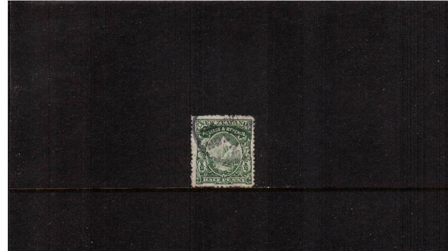 ½d Green - Watermark ''Single'' NZ - Perforation ''mixed perfs''<br/> 