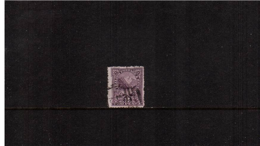 2dGre-Purple  - ''Pictorials'' - Watermark ''Single'' NZ - Perforation 14<br/>
