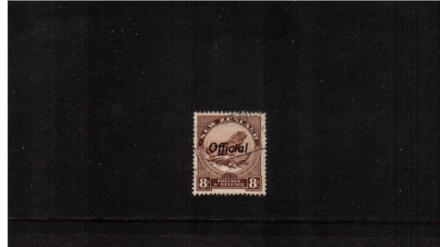 8d Chocolate - Watermark Sideways - Perforation 14x14�br/>