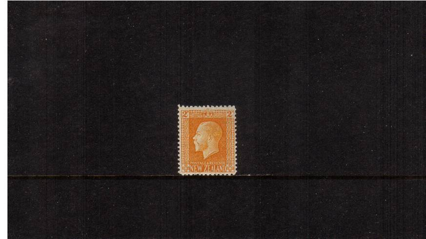 2d Yellow - George 5th Head - Line Perf 14<br/>