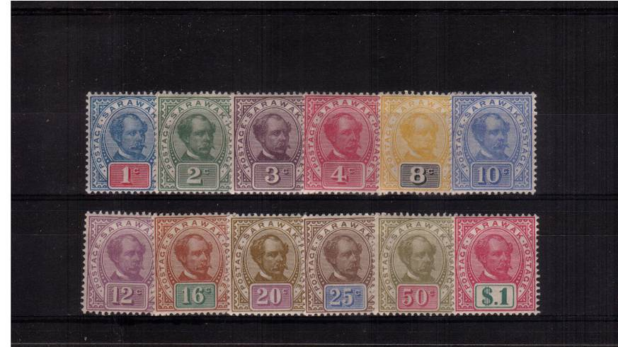 The ''POSTAGE - POSTAGE'' set of twelve fine very lightly mounted mint.