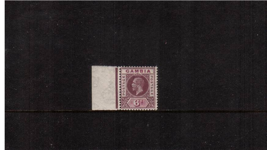 6d Dull and Bright Purple<br/>