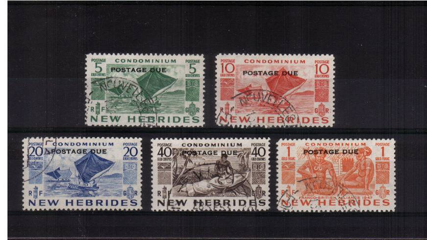 A superb fine used set of five.