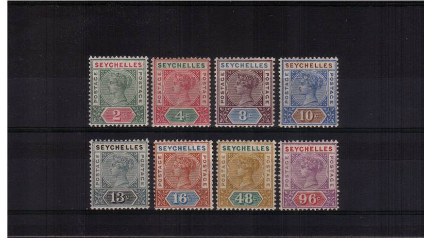 The first definitive set of eight - DIE I<br/>
