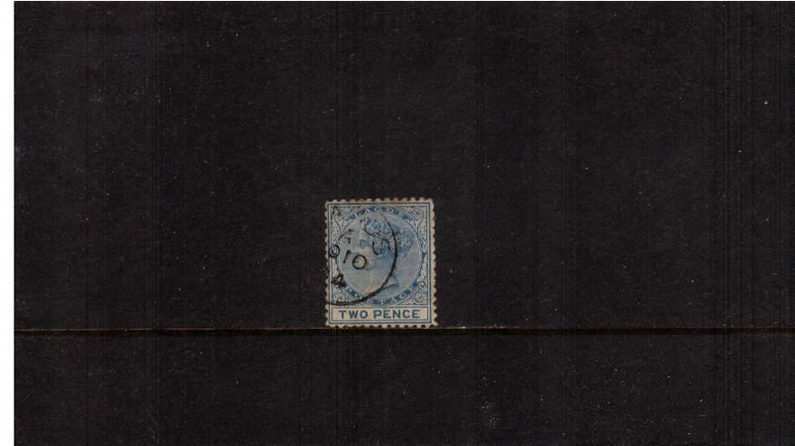 2d Blue - Perforation 12½<br/>