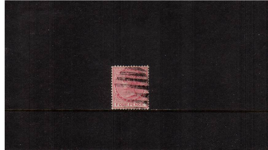 4d Carmine - Perforation 14<br/>A good used single. SG Cat £12