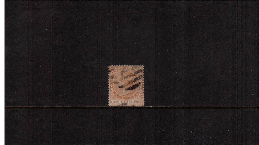 1/- Orange - Watermark CC<br/>