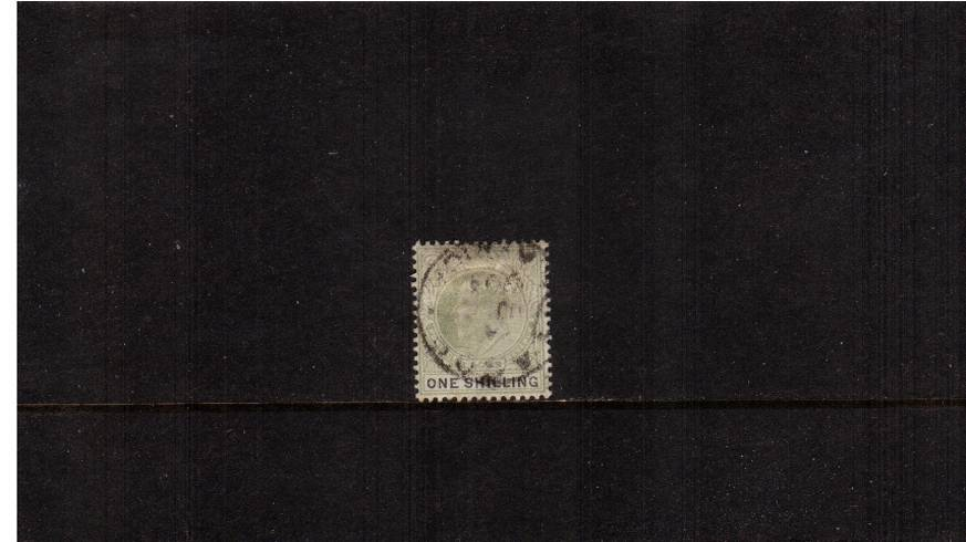 1/- Green and Black<br/>