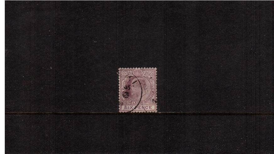 6d Dull Purple and Mauve<br/>