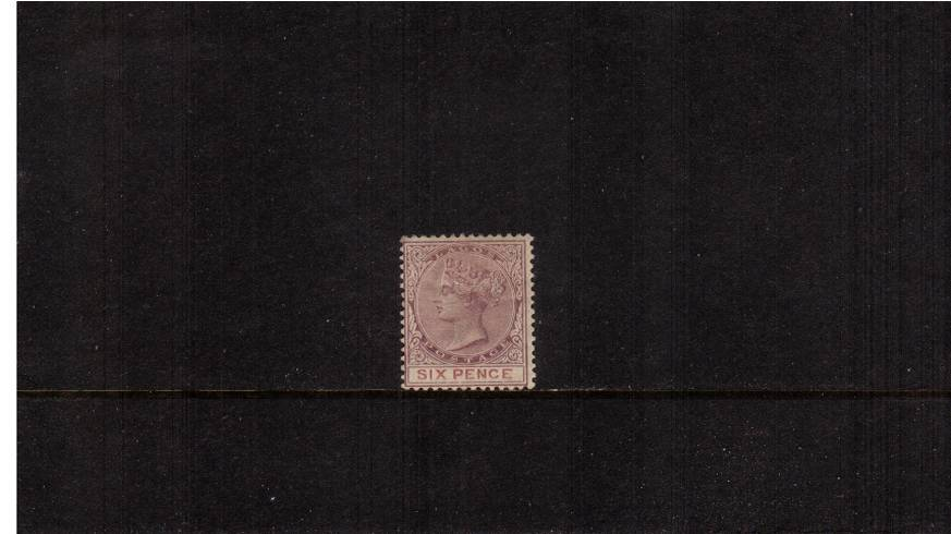6d Dull Mauve and Mauve<br/>