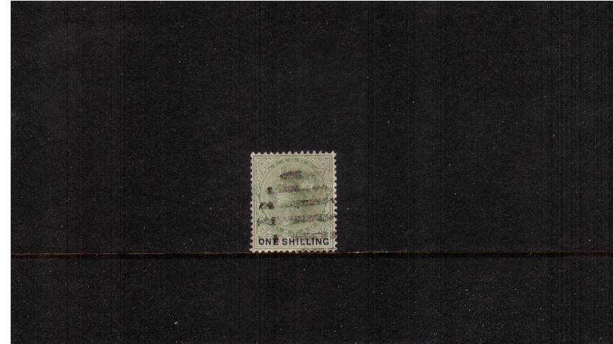 1/- Yellow-Green and Black<br/>