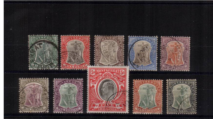 A superb fine used set of ten. Lovely!   SG Car £450.00