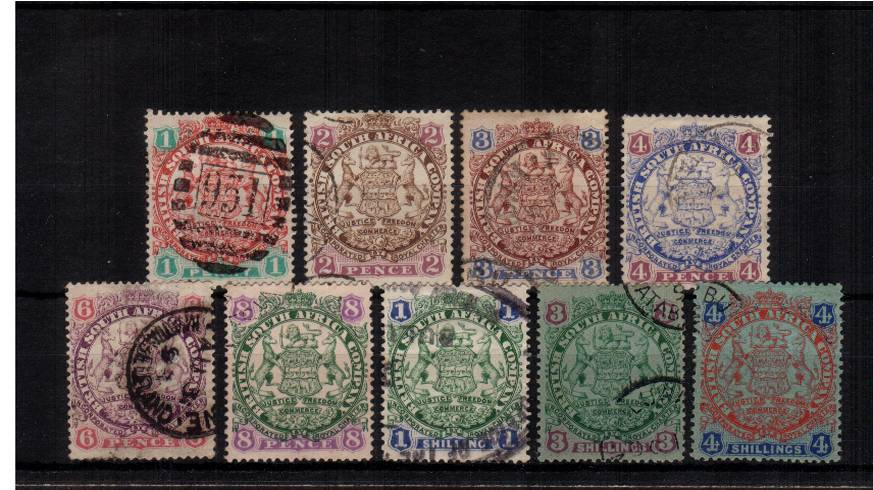 The ''Arms'' set of nine - Die I<br/>