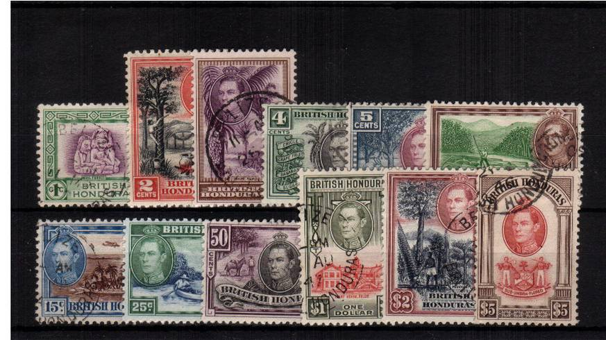 A superb fine used complete set of twelve with each stamp having a selected CDS cancel.<br/><b>UEU</b>