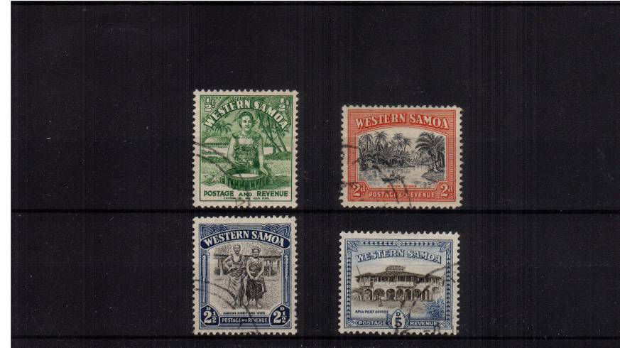 A superb fine used set of four.