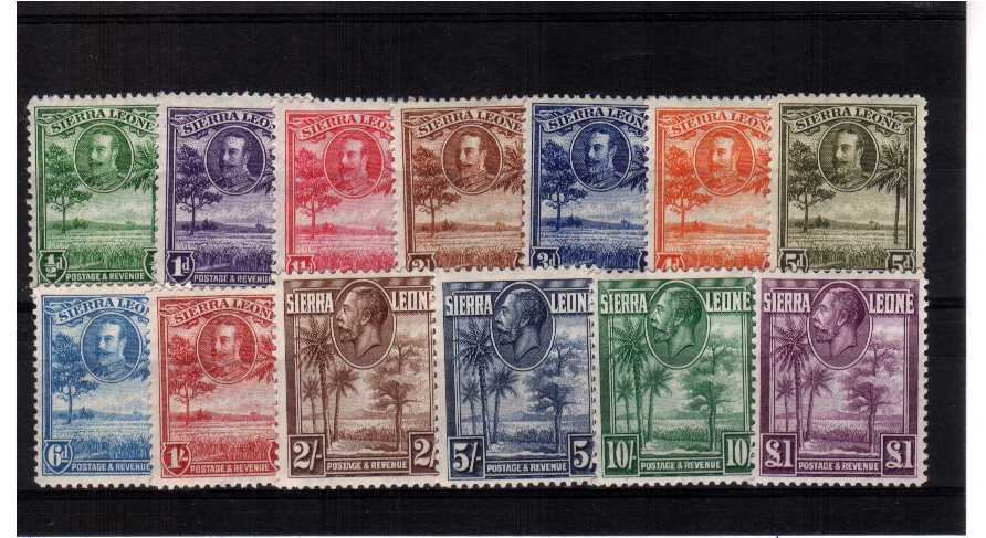 A fine very, very lightly mounted mint set of thirteen. Lovely!<br/><b>UEU</b>