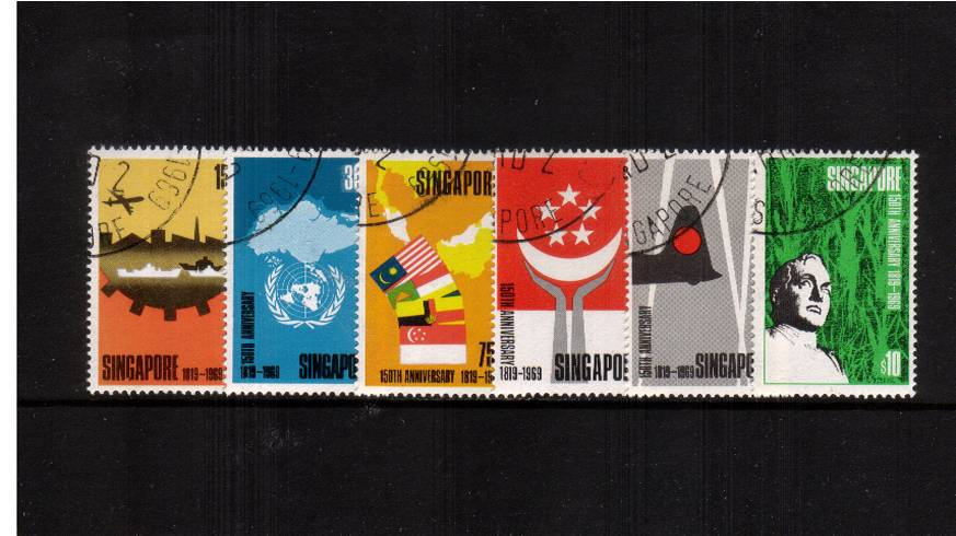150th Anniversary of Founding of Singapore<br/>