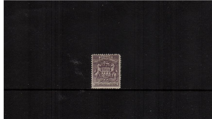 2/6d Grey Purple<br/>