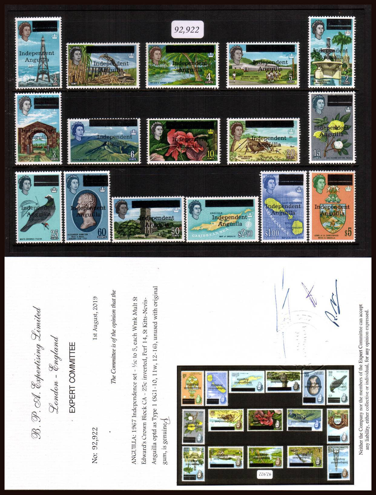 The Rarest set of QEII British Commonwealth Philately!<br/>