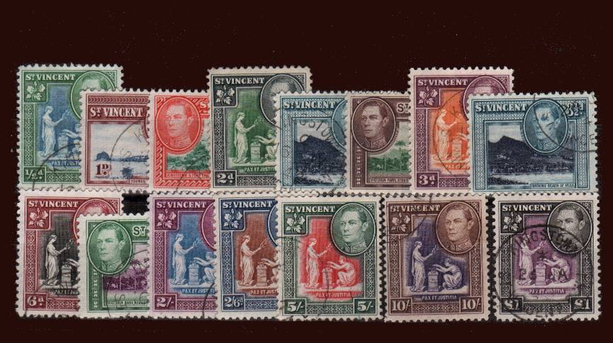 A superb fine used set of fifteen.<br/>