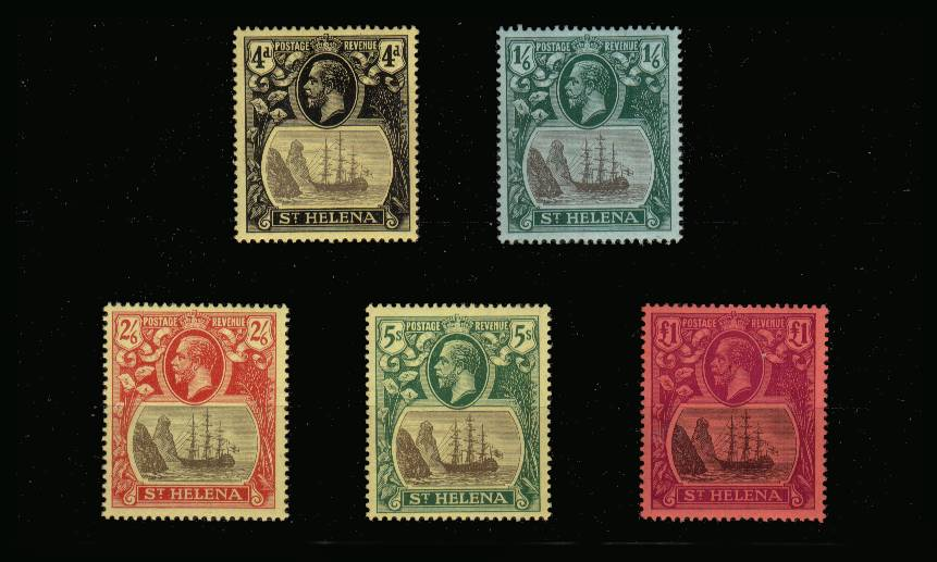 The ''Multiple Crown CA'' watermark set superb unmounted mint.