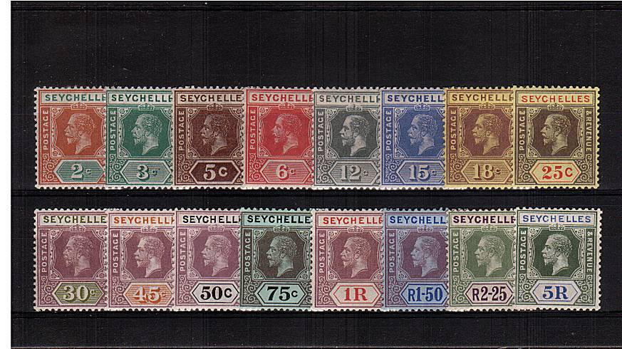 George 5th Multiple Crown Watermark - Die I<br/>
