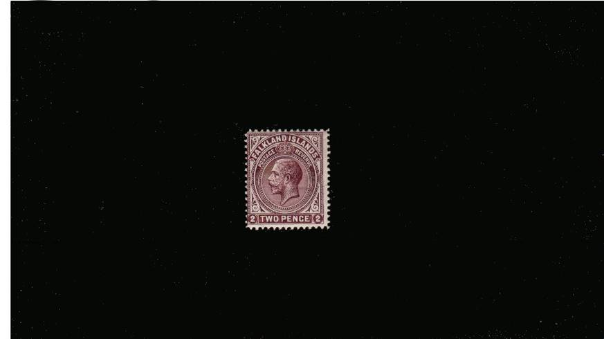 2d Deep Reddish Purple - Perforation 14<br/>