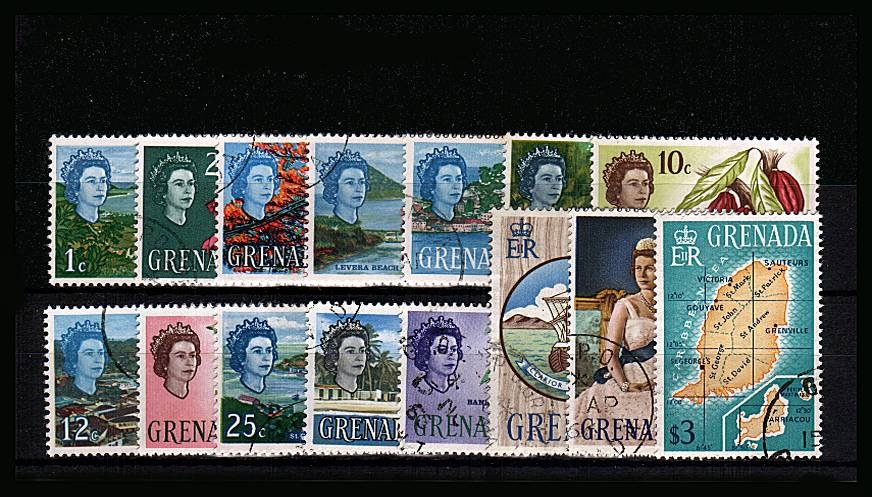The pictorials set of fifteen superb fine used with each stamp being cancelled with a crisp CDS cancel. SG cat £42<br/><b>QPX</b>