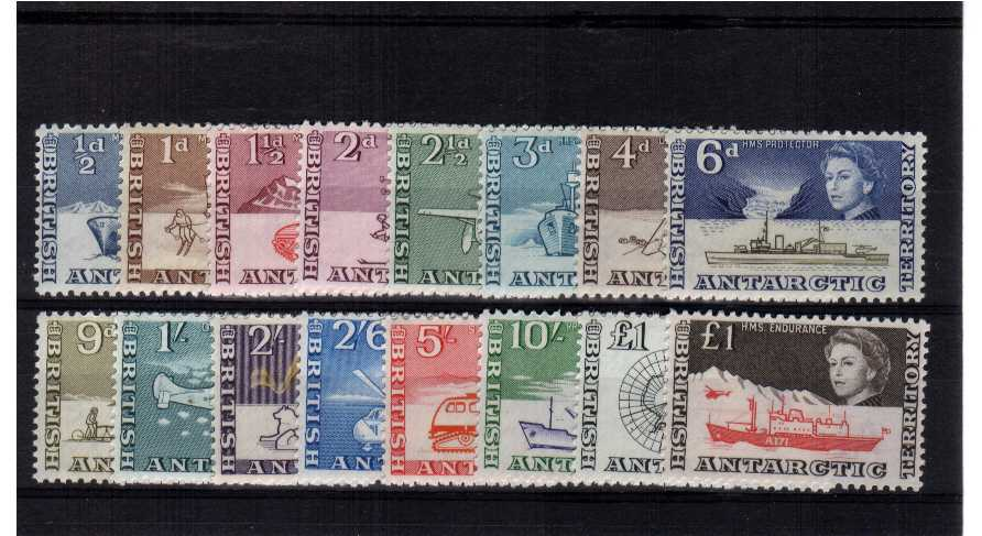 A superb unmounted mint set of sixteen that includes the extra �value.<br/><b>ZKG</b>
