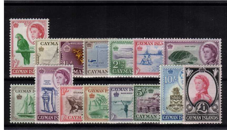 A good lightly mounted mint set of fifteen.<br><b>ZKU</b>