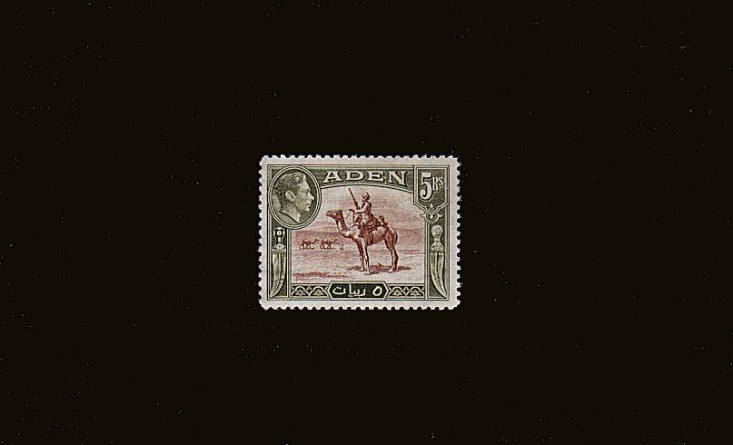 5Rs Red-Brown and Olive-Green<br/>