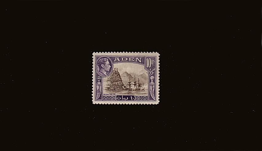 10Rs Sepia and Violet<br/>