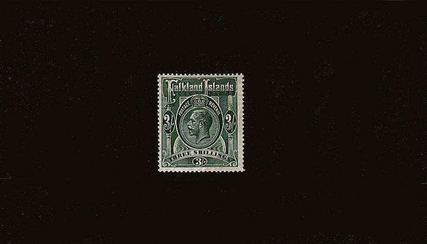 3/- Slate-Green