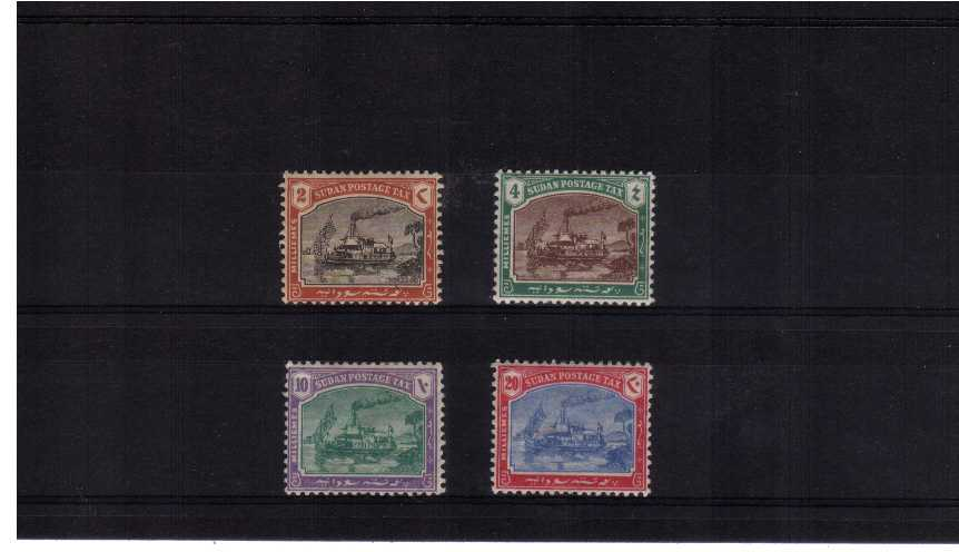 POSTAGE DUES<br/>A good mounted mint set of four