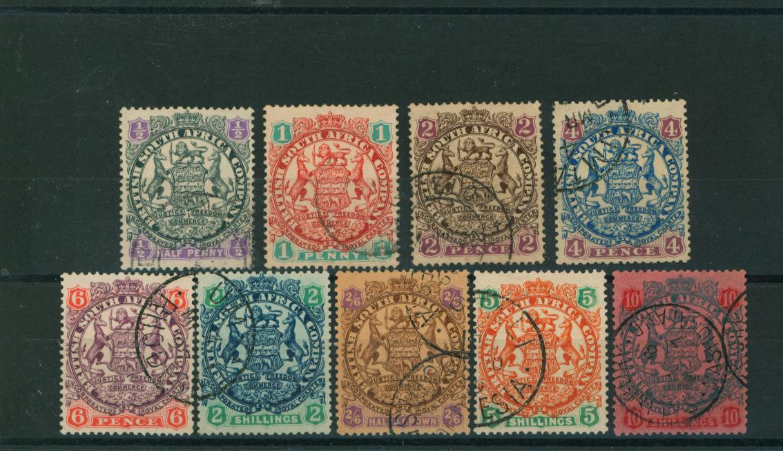 The ''Arms'' set of nine - Die II</br/>