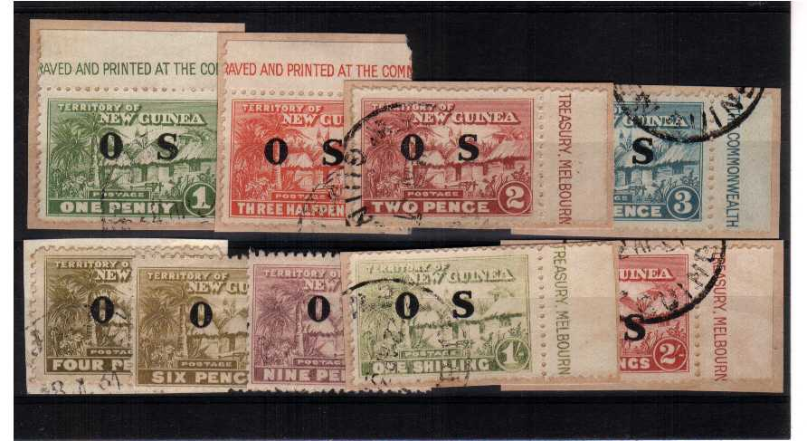 superb fine used set of 9