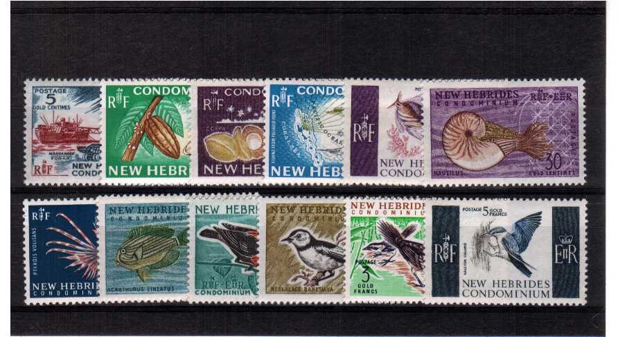 A superb unmounted mint set of twelve.<br/><b>UEU</b>