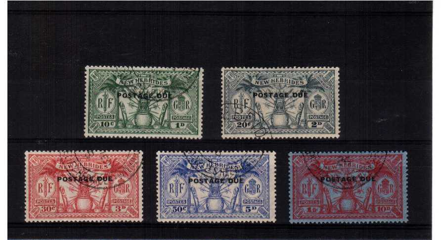 Superb fine used set of five.