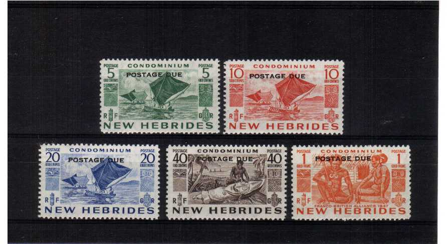 Superb unmounted mint set of five.<br/><b>ZEZ</b>