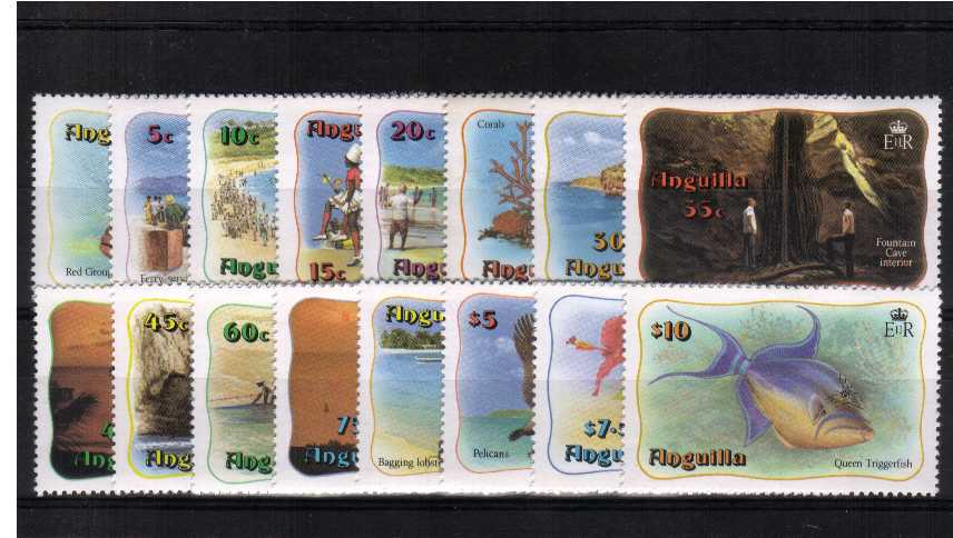Marine Life set of sixteen superb unmounted mint.