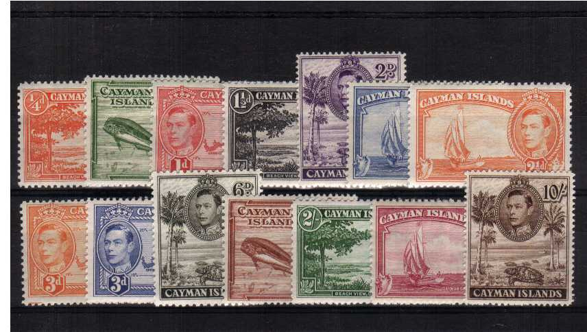 A superb unmounted mint set of fourteen.<br/><b>QMQ.</b>