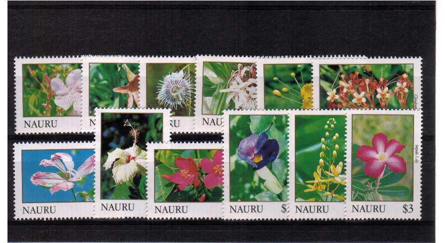 superb unmounted mint set of twelve