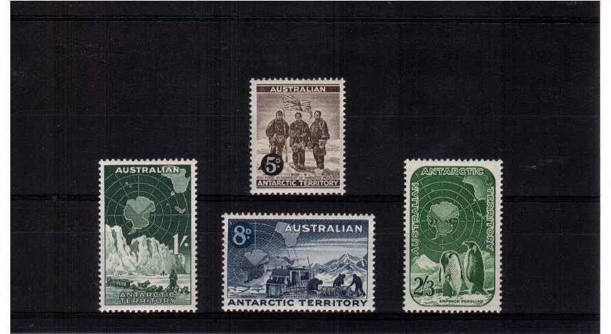 A superb unmounted mint set of four.<br><b>ZKU</b>